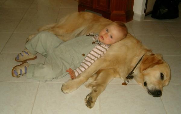 Agi s Janičkou odpočívají